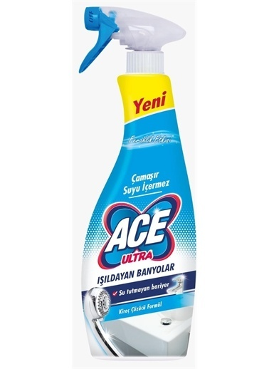 Ace Ace Ultra Çamaşır Suyu İçermeyen 7,RNKSZ Renksiz